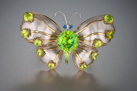 Butterfly brooch exhibit