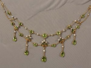 Antique Festoon Necklace