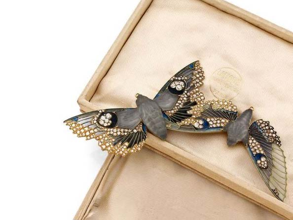 René Lalique, moth brooch