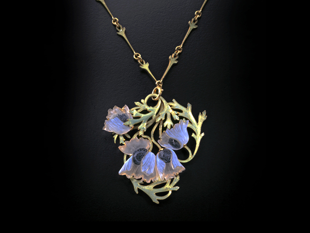 Anemone necklace. René Lalique