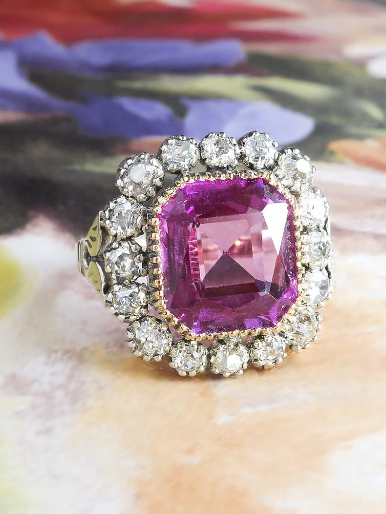 Difference between ruby and pink sapphire