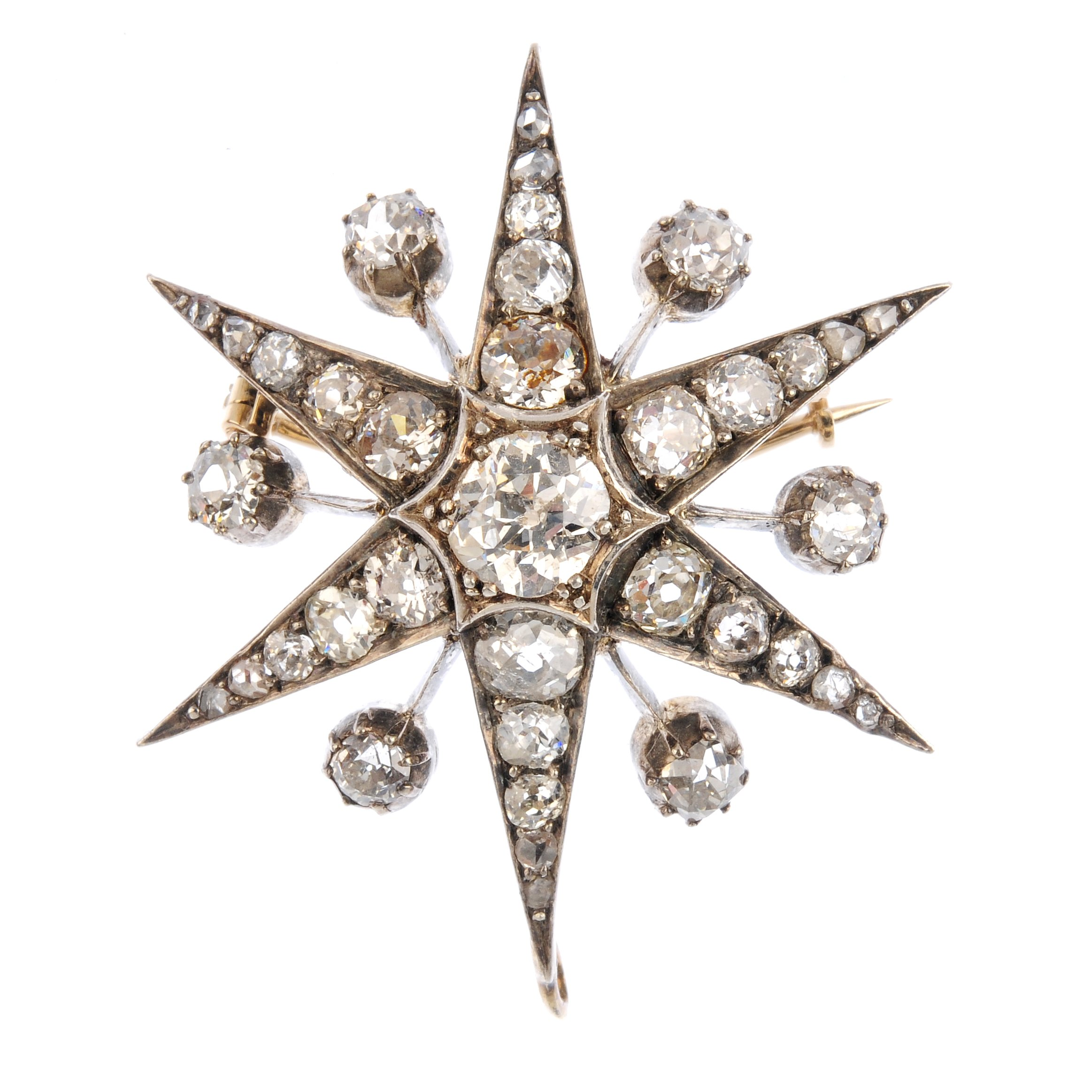 "<a href=""https://www.fellows.co.uk/2104-lot-407-A-late-Victorian-diamond-star-brooch?utm_source=Ageless%20Heirlooms&utm_medium=blog&utm_campaign=Ageless%20Heirlooms%20Vintage&utm_content=Blog%20and%20social"">LOT 407</a>"