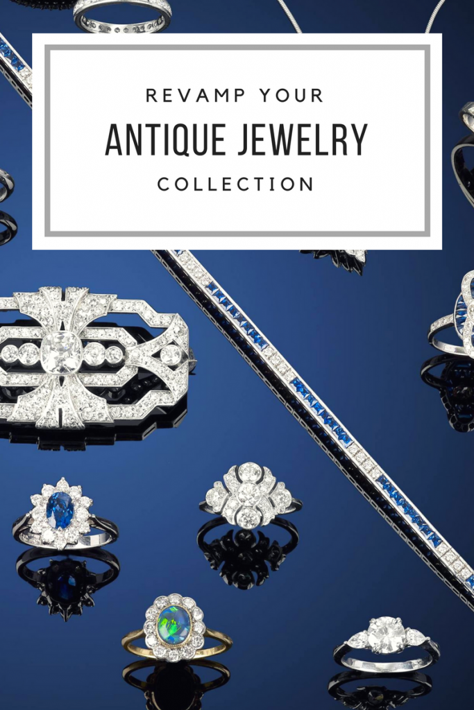 Antique jewelry collection at Fellows Auctions