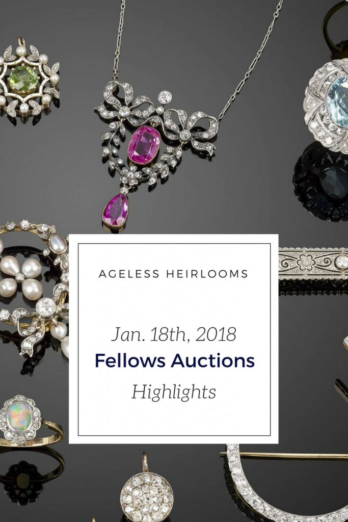 Fellows Auctions January 18th finds