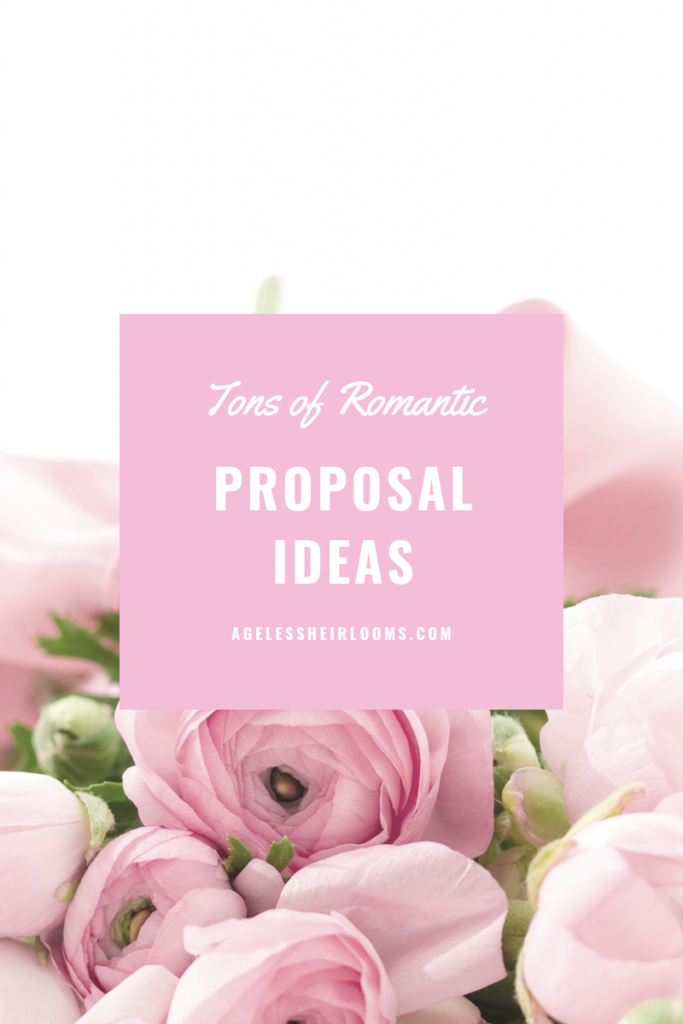 , 15 Romantic Ways to Propose, Victoria's Jewelry Box